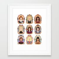 heymonster Framed Art Prints featuring SFC Collection by heymonster