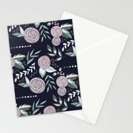 Paint by Number - Moody Florals Stationery Cards
