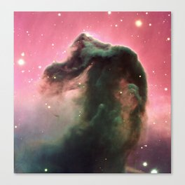 """Horsehead"" Nebula Society6 Planet Prints Canvas Print"