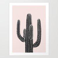 Cactus 14a Art Print