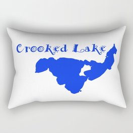 Crooked Lake 001 Rectangular Pillow
