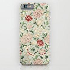 William Morris Cray Floral Pre-Raphaelite Vintage Art Nouveau Pattern iPhone 6s Slim Case