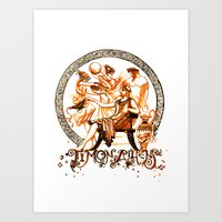Timon of Athens by William Shakespeare Art Print