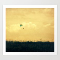 Soft Landing Art Print