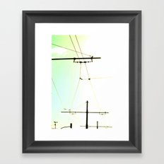 connected Framed Art Print