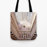brussels Tote Bags featuring brussels by Beau Colin