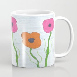Poppies: Toward the Sky Coffee Mug