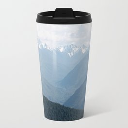 Olympic Mountains Travel Mug