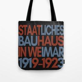 Bauhaus Poster Tote Bag