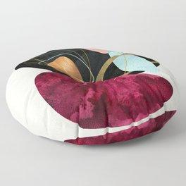 Abstract Pebbles II Floor Pillow