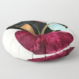Abstract Pebbles II Floor Pillow