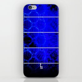 The Blue Depths (Five Panels Series) iPhone Skin