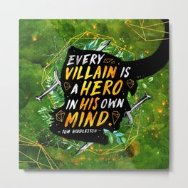 Every villain Metal Print