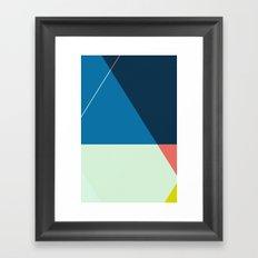 ‡ T : T ‡ Framed Art Print