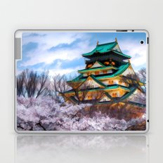 Osaka Castle - Painting Style Laptop & iPad Skin