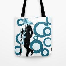 Gentlemen, We got a dead one here.. blue version Tote Bag