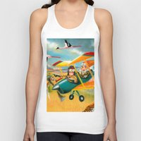 africa Tank Tops featuring Africa by colortown