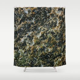 Biasenzaniro JP Rocks Boho Organic Texture Shower Curtain