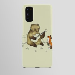Bear & Fox Android Case
