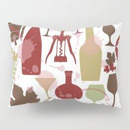 I Love Wine Pillow Sham