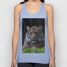 Look into my eyes by Teresa Thompson Unisex Tank Top