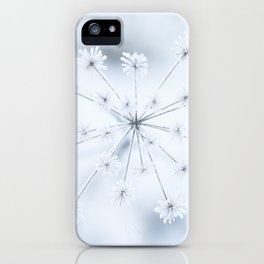 Beautiful Dry Flower with Ice Crystals #decor #buyart #society6 #holiyay iPhone Case