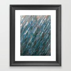 Brushed Aside Framed Art Print