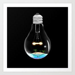 Glass life Art Print