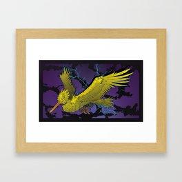 Zapdos Framed Art Print