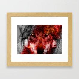 Alpha Male Framed Art Print