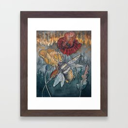 Ashes to Ashes Framed Art Print