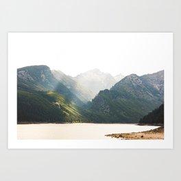 The Montana Collection - Lake Como Art Print