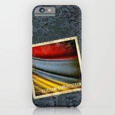 Grunge sticker of Armenia flag iPhone 6s Slim Case
