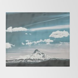 Mountain Morning - Nature Photography Throw Blanket