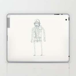 Wood, Meat, Fish and Facial hair Laptop & iPad Skin