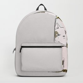 Flat and Furrious Backpack