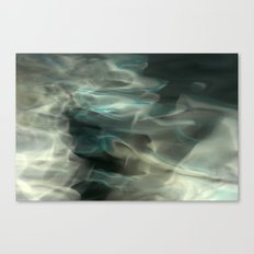 Abstracted waters Canvas Print