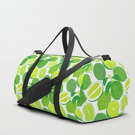 Lime Harvest Duffle Bag