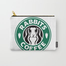 RABBITS COFFEE Carry-All Pouch