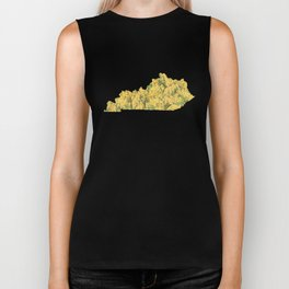 Kentucky in Flowers Biker Tank