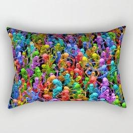 Dancing dead Rectangular Pillow