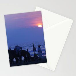 Horses on an Acapulco Beach Stationery Cards