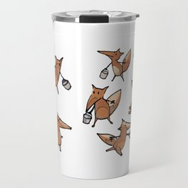 Lots of Freddy Foxes Travel Mug