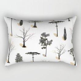 tree shadows Rectangular Pillow