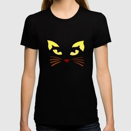 Black Cat at Night T-shirt