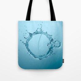 Water Splash Tote Bag