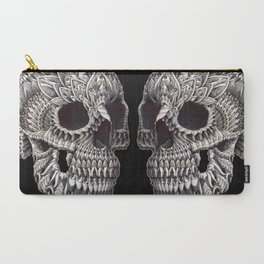 Ornate Skull Carry-All Pouch