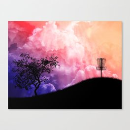 Basket On A Hill Canvas Print