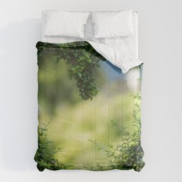 Naturally Grown Tree Heart - Nature Photography Comforters