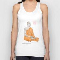 buddha Tank Tops featuring Buddha by Bryan James